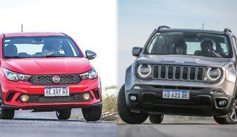 Fiat Argo y Jeep Renegade